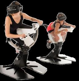 Simulador de motociclismo en Realidad Virtual